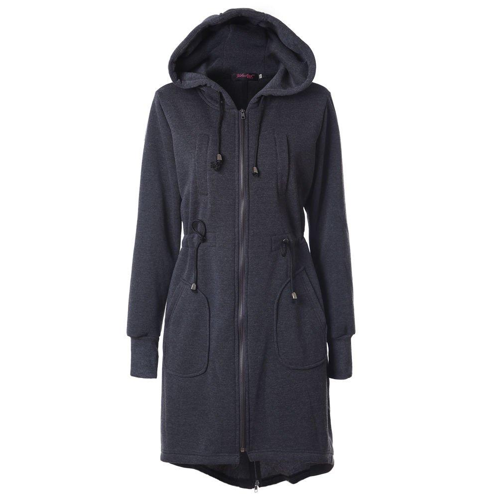 Damen Jacken & Damen Mäntel Polarino Fleecejacke schwarz 100