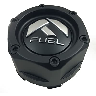 Fuel Matte Black Custom Wheel Center Cap ONE (1) 1003-48b: Automotive