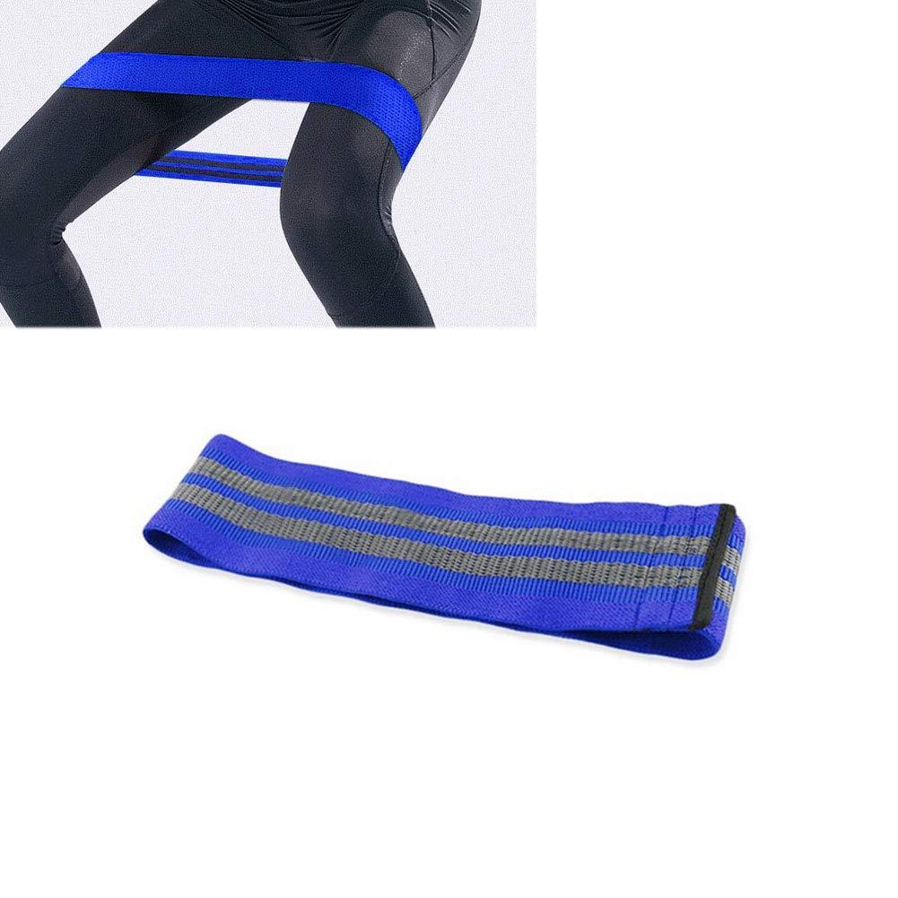 Bandas de Cadera Resistencia Bandas Bandas de Entrenamiento Pesado bot/ín Entrenamiento de piernas Glute Anti Slip Bandas el/ásticas Anchas Ejercicio de Resistencia para Las piernas Gris Azul