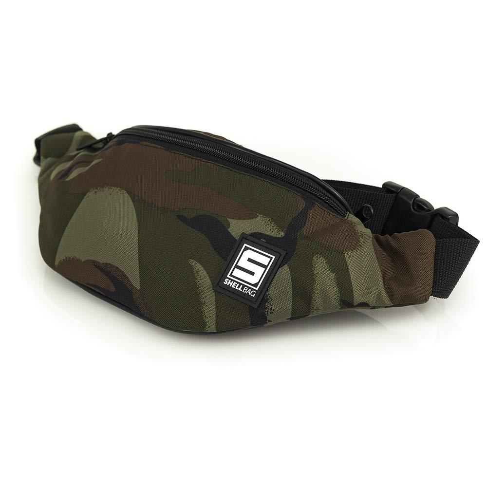 Jungle Camouflage Collection Bolsa de cinturón Militar Bolsa de Cintura Moro Bolso para Hombre/Premium Quality Made in Europe 2018