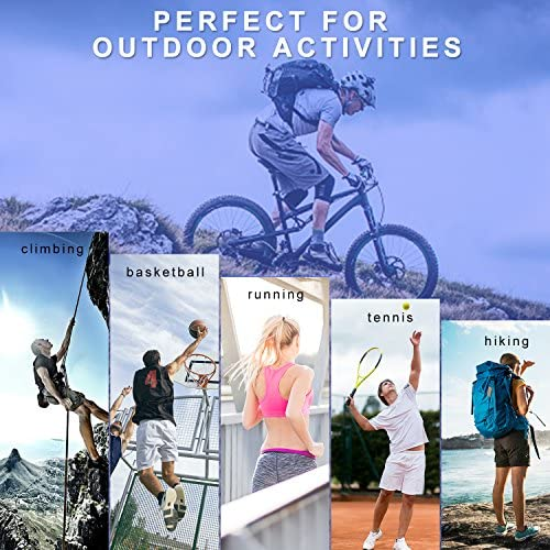 protecci/ón Solar UV para Actividades al Aire Libre 1 par absorbentes al Sudor Mangas Deportivas para Brazos Transpirables DONWELL