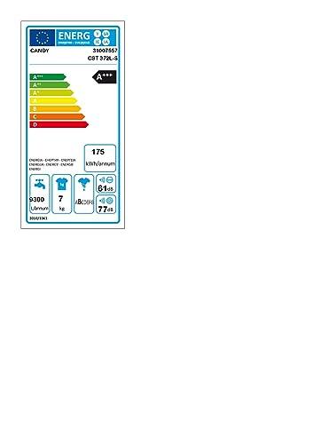 Candy CST 372L-S - Lavadora carga superior 7Kgs, 15 programas ...