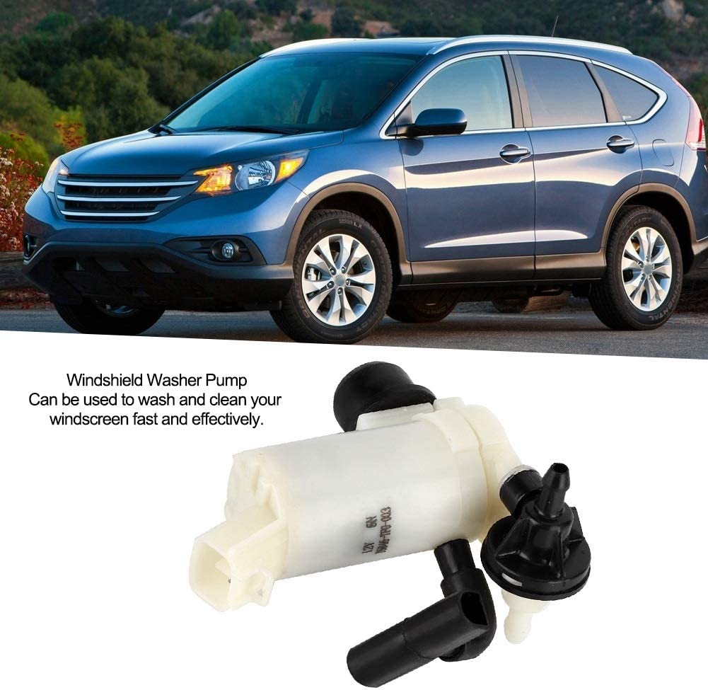 Windshield Washer Pump Fit for Honda CR-V//Civic//Odyssey//FIT 09-14 76846-TF0-003