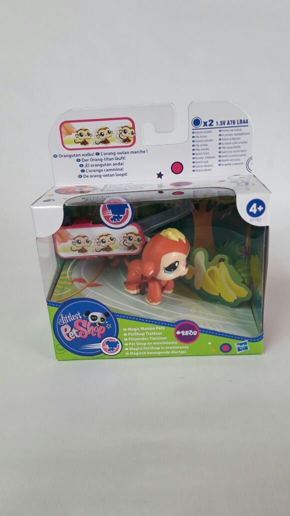 Amazon.es: littlest pet shop 2538 ORANGUTAN: Juguetes y juegos