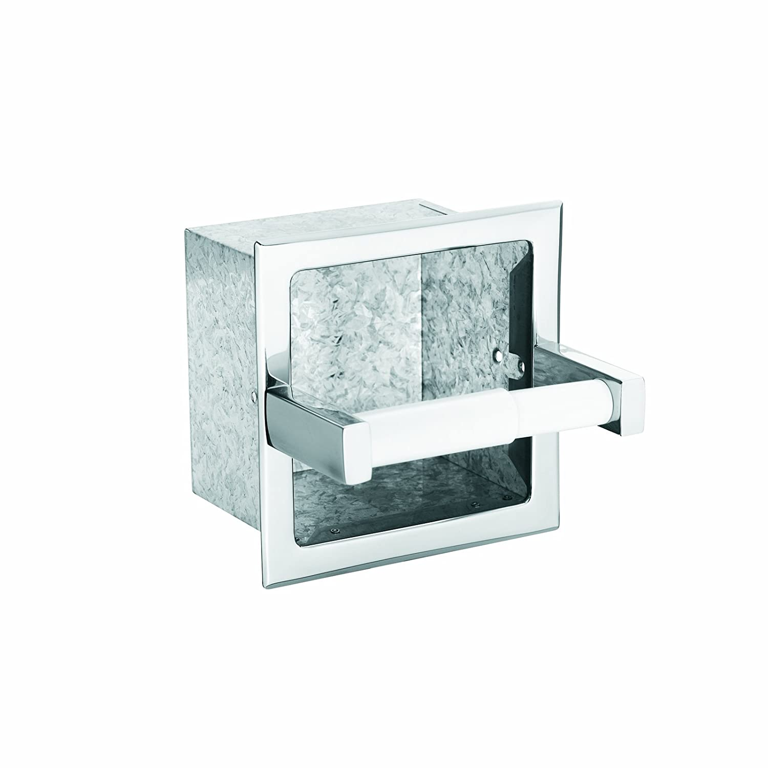 Moen 5571 Donner Hotel and Motel Extra Roll Recessed Paper Holder Chrome