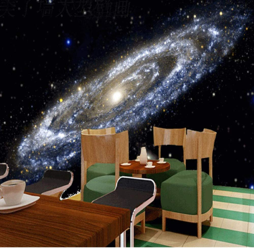 Amazon Com 3d Mural Wallpaper Milky Way Nebula Universe Black Hole Theme Wallpapers For Living Room Bedroom Ceiling Mural Painting Kitchen Dining