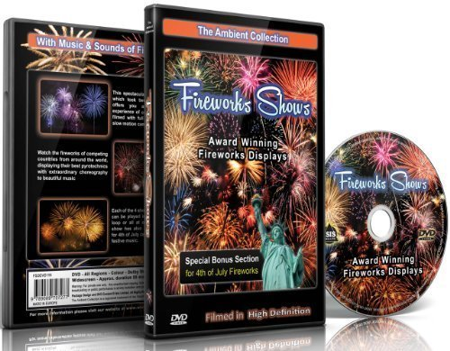 Fireworks Shows DVD - Award Winning Fireworks Displays Filmed in (Award Winning Collection)