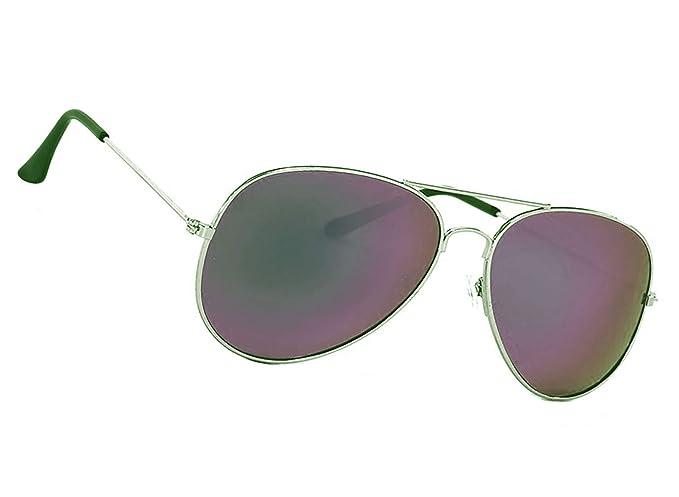 fbeb88b467 MFAZ Morefaz Ltd Espejo gafas de sol para niños Lente Boy Girl Estilo  clásico para niños y niñas 100% UV400 (Purple Mirrored): Amazon.es: Ropa y  accesorios