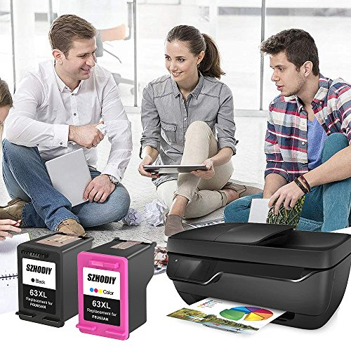 hot sale SZHODIY Replacement For Hp Ink Cartridge 63 63XL High Yield