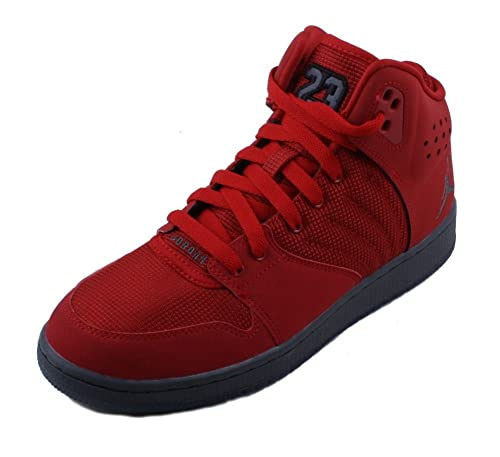 sports shoes c76cb e3317 Nike Jordan 1 Flight 4 Premium Youth Gym Red/Dark Red ...