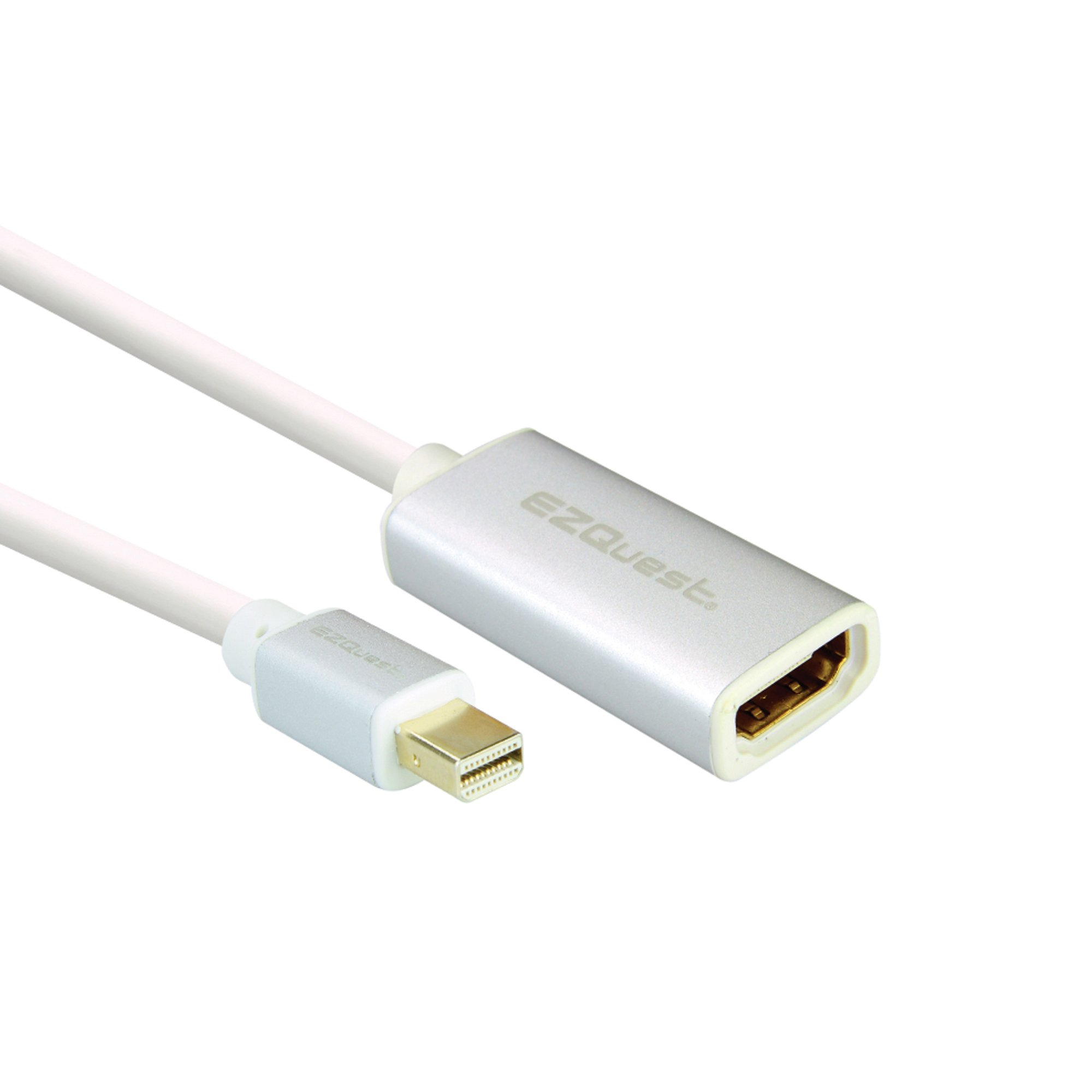EZQuest Mini Display Port to HDMI Adapter with Aluminum Sleeves (X40094)