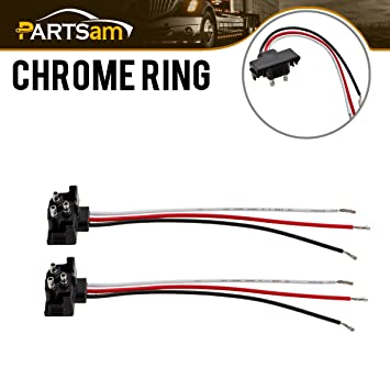 Amazon.com: 3 Prong Pigtail Wire Plugs for Truck Trailer Bus Boat RV on boat trailer wheel, boat trailer actuator, boat trailer wiring, boat trailer distributor, boat trailer tires, boat trailer washer, boat trailer step, boat trailer adapter, boat trailer jack, boat trailer bushing, boat trailer plug, boat trailer connectors, boat trailer seal, boat trailer bearing, boat trailer cover, boat trailer lights, boat trailer hitch, boat trailer motor, boat trailer bracket, boat trailer stand,