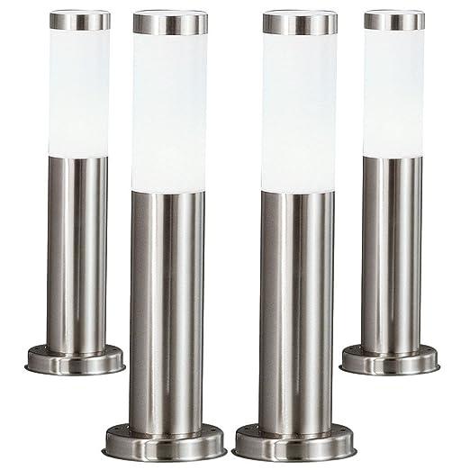 4 X Lampadaire Ip44 Luminaire Sur Pied Eclairage Espace Exterieur