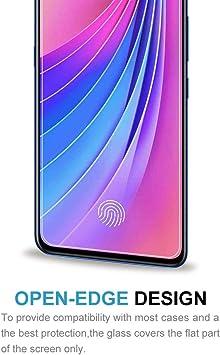 Lihuoxiu Phone Screen Protectors 25 PCS 9H 5D Full Glue Full Screen Tempered Glass Film for Vivo X9s Plus