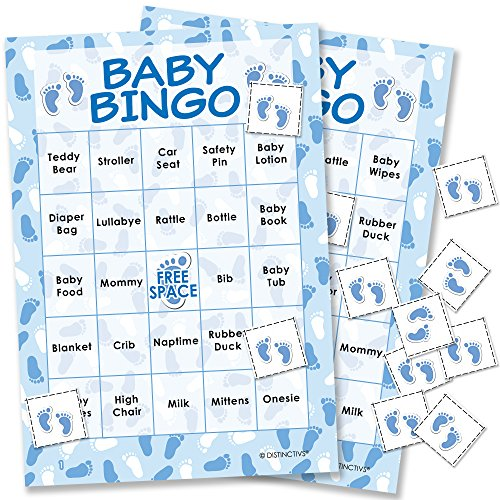 It's a Boy Baby Shower Bingo Game - 24 Guests]()