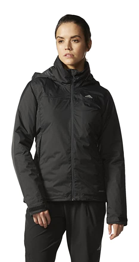 Adidas Wandertag Padded – Chaqueta para Mujer, Mujer, Jacke Padded Wandertag, Negro,
