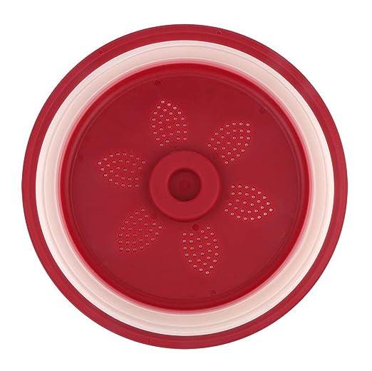 Placa de microondas Cubiertas para platos Tapa Gel de sílice ...