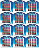 Expo 81045 Low Odor Dry Erase Markers, Assorted Colors - Ideal for Classrooms, Offices and Homes - Case of 12 Sets
