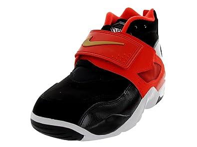 quality design 60503 4210b Nike Men s Air Diamond Turf Basketball Shoes, Black, ...
