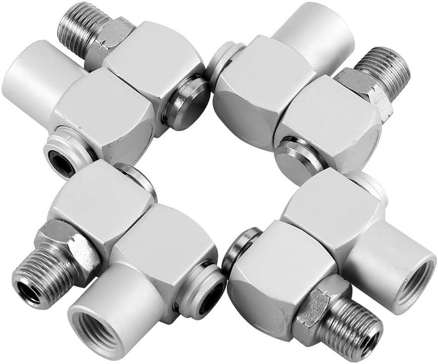 Zerodis 4pcs Aluminum 1/4
