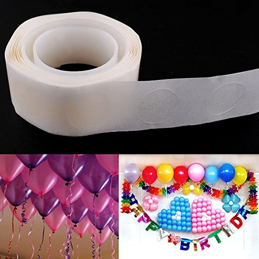 DIY 1//5 Roll 100 Glue Dots Stickers For Balloon Adhesive Wedding Party Decor