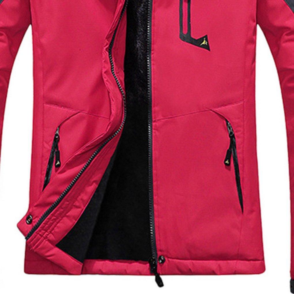91e0f1aa897d5 Panegy - Chaqueta para Mujeres para Deportes Esquí Invierno Abrigo  impermeable Chaqueta de Nieve a prueba Viento - Azul Verde Rojo Rosa -  Talla asiático M L ...