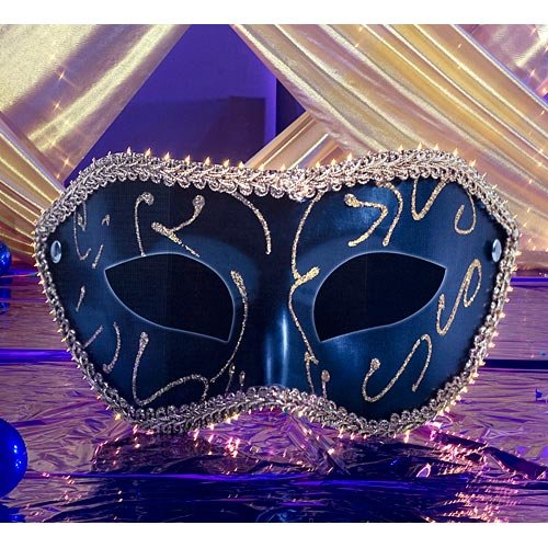 Venetian Masquerade Mask Mardi Gras Standee Standup Photo Booth Prop Background Backdrop Party Decoration Decor Scene Setter Cardboard Cutout