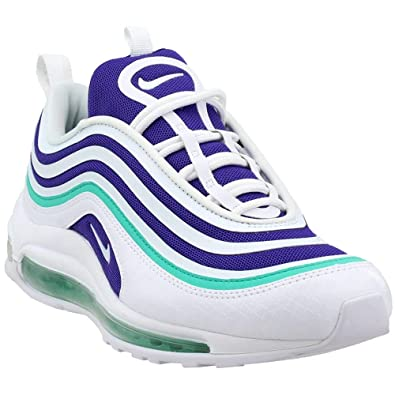reputable site a644f dbd56 Nike Women s W AIR MAX 97 UL 17 SE, White White-Court Purple