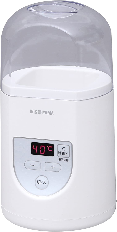 IRIS OHYAMA yogurt maker Premium (with temperature control function) IYM-012-W