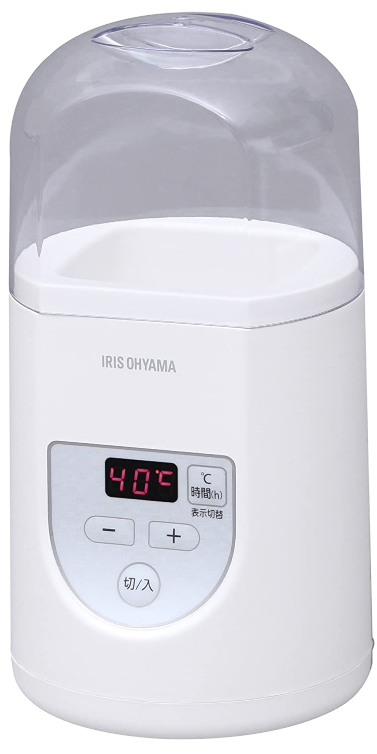 IRIS OHYAMA yogurt maker Premium (with temperature control function) IYM-012-W