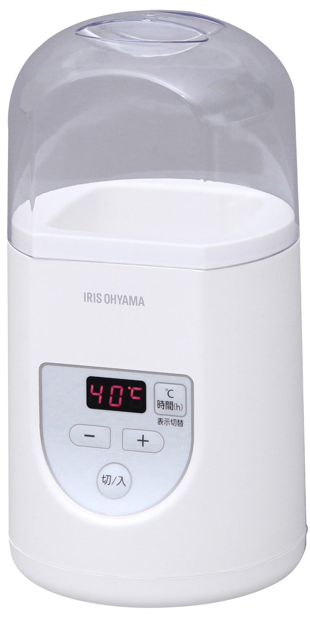 アイリスオーヤマ ヨーグルトメーカー プレミアム 温度調節機能付き ホワイト IYM-012 product image