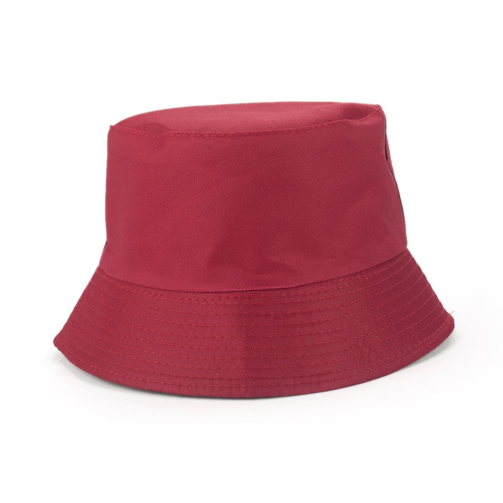 Opromo Unisex Reversible Bucket Hat Packable Summer Outdoor Hunting Fishing Hat 6CAP-BO0024_BEIGE