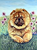 Caroline's Treasures 7020CHF Chow Chow Flag Canvas, Large, Multicolor
