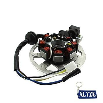 Amazon.com: xlyze 7 Bobina 5 alambre magneto estátor para ...