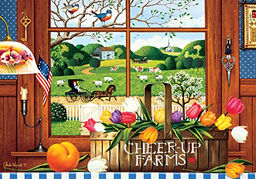 Buffalo Games - Charles Wysocki - A Peach of a Day - 300 Large Piece Jigsaw Puzzle by Buffalo Games