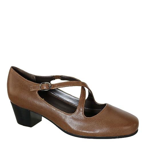 e734972cce6e David Tate Women s CIMA Brown Leather 8 N ...