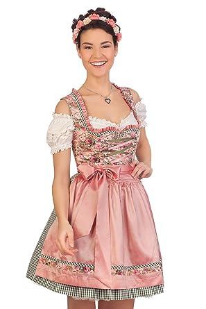 15bdf2711466e1 Trachten Minidirndl 2tlg. - JANA - rosé: Amazon.de: Bekleidung