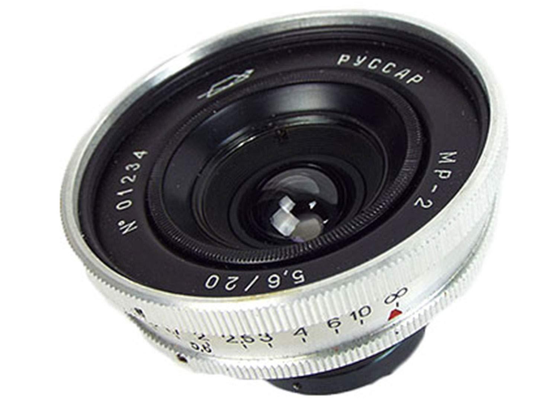 ※オールドレンズ※RUSSAR MR-2 20mm/f5.6シルバー ファインダー付 Lマウント オーバーホール済み   B07JVSR4WF