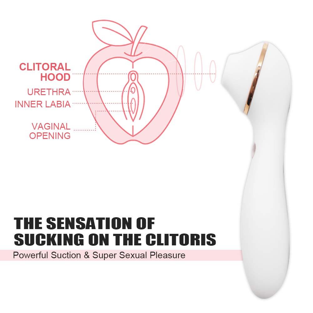 Amazon.com: Clitoral Sucking Vibrator, BOFAN G Spot Clit Dildo Vibrators  for Women with Suction & Vibration, Waterproof Clitoral G Spotter Nipple  Stimulator ...