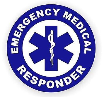 Amazoncom Pc Superb Popular Emergency Medical Responder Vinyl - Superb vinyl signs