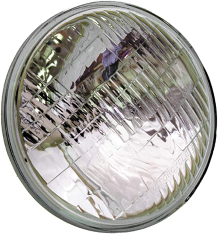 "35W H4467 12.8 Volt Wagner 5 3//4/"" Round Sealed Beam Motorcycle Headlight 50W"