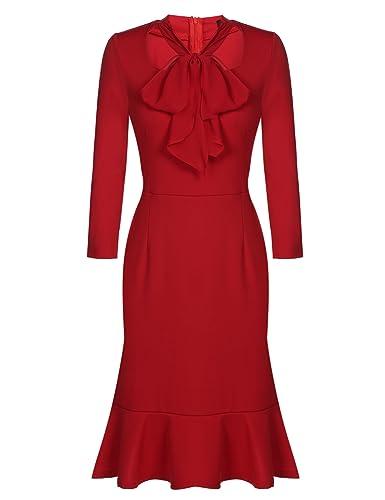 ACEVOG Women's Vintage 50s Bod...
