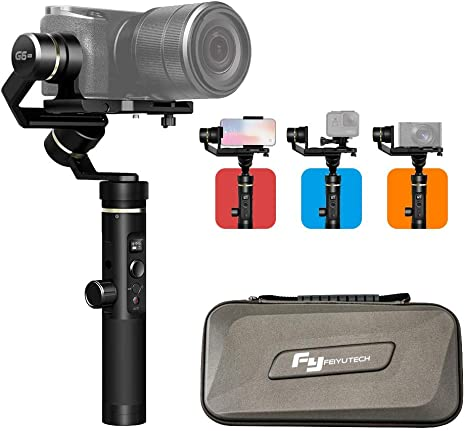 FeiyuTech G6 Plus 3-Axis Handheld Gimbal Stabilizer,Fits ...