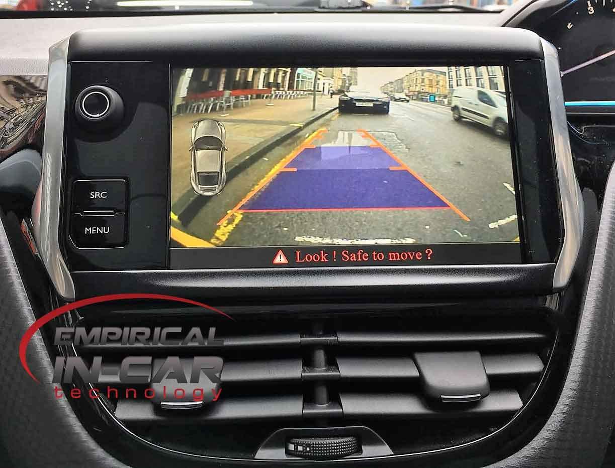Peugeot 208 & 2008 - Kit de cámara de Marcha atrás (2014-2017): Amazon.es: Electrónica