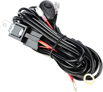 3 METERS COMPLETE WIRING LOOM FOR LED LIGHT BARS