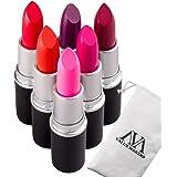 VALUE MAKERS 6 colori Pro trucco Fino rossetto-impermeabile Stick Labbra-Matte facile da indossare Lips rossetto a lunga durata rossetto Lip Gloss Lip Pen-trucco di bellezza sexy Strumenti