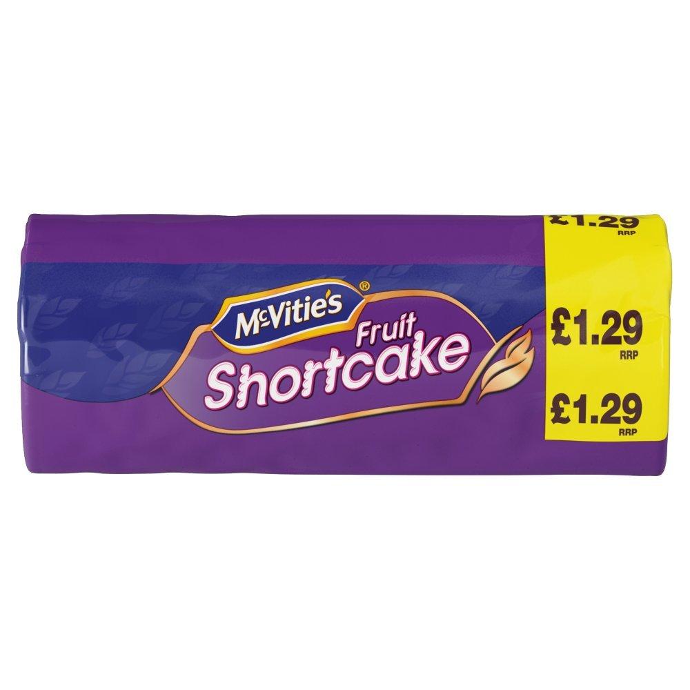 Mcvities Fruit Shortcake 200g x 6