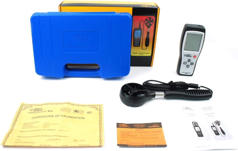 AS836 Digital LCD Display Split Type Anemometer Wind Speed Meter Digital LCR Meter
