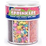 Fox Run 8291 Ice Cream Sprinkles, 6-Cell