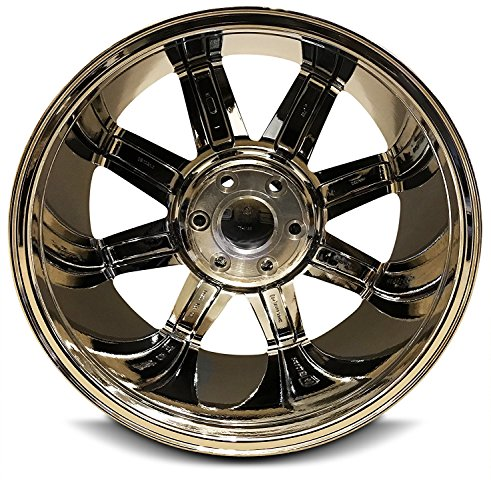 New 20 Inch GMC Sierra 1500 Denali Yukon 6 Lug Replacement Chrome Wheel Rim 20x8.5 Inch 6 Lug 78.1mm Center Bore 31mm Offset 9595662 by Road Ready Wheels (Image #1)